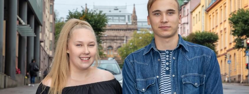 Kaudella 2019-2020 Turun flikkana ja poikana olivat Johanna Pyhtilä ja Matias Ponsén.